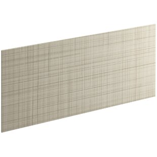 Best Reviews Choreograph 60 x 28 Accent Panel, Linen Texture By Kohler