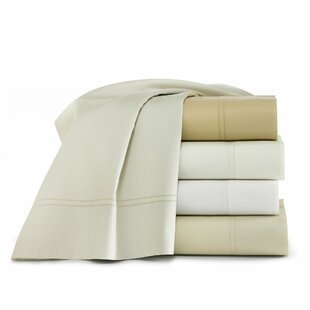 Lyric 500 Thread Count Egyptian-Quality Cotton Fitted Sheet