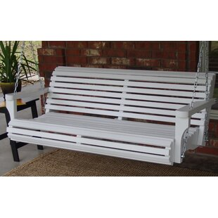 Arencibia Classic Style Porch Swing by August Grove