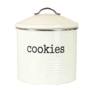 Tin 4.2 qt. Cookie Jar