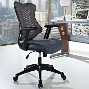 Hibbler Clutch High-Back Mesh Desk Chair by Symple Stuff