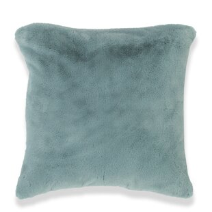 Bolen Rabbit Faux Fur Throw Pillow