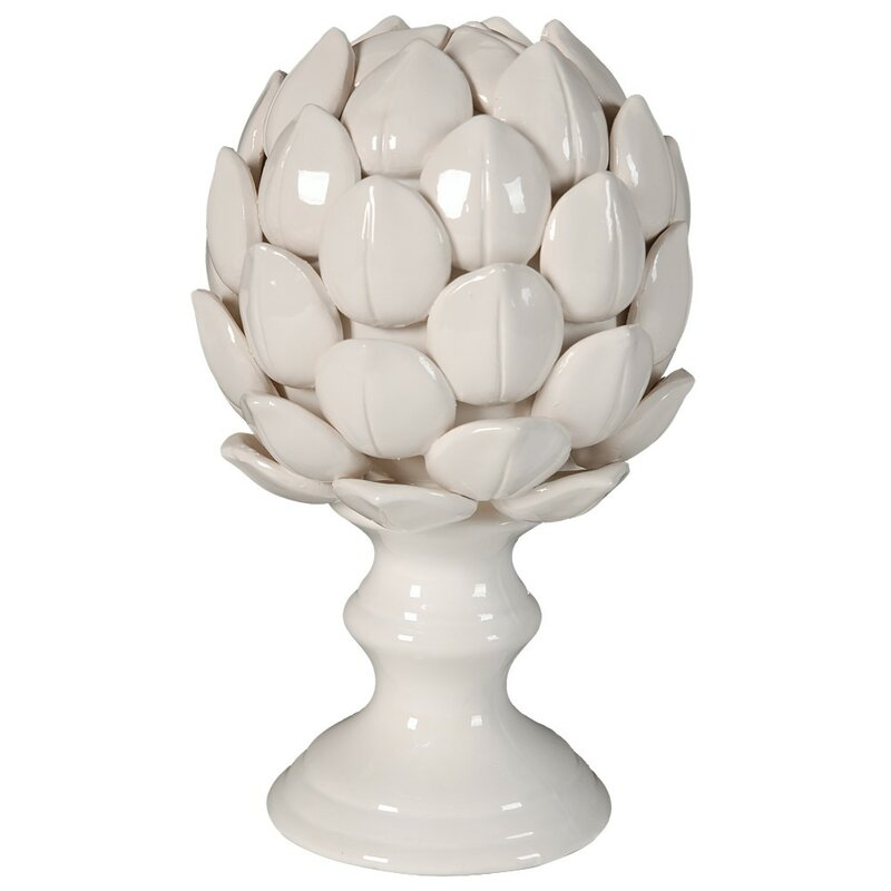Jeffersonville Ceramic Artichoke On Pedestal Base