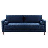 Garren 75.6 Square Arm Sofa by Mercury Row