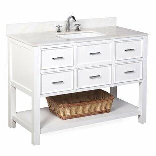 New Hampshire 48 Single Bathroom Vanity Set by Kitchen Bath Collection