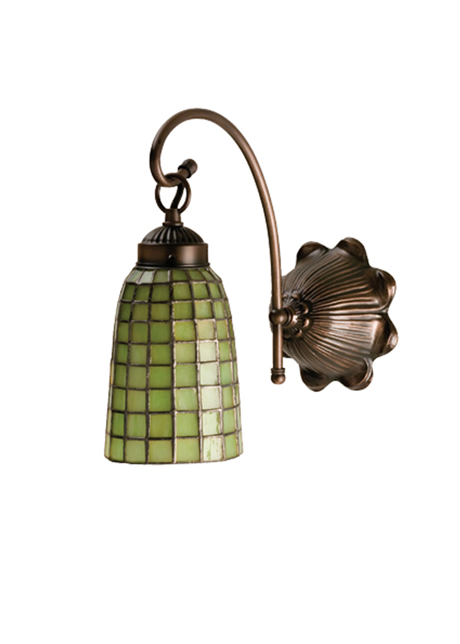 Bloomsbury Market Allport Verde 1 Light Armed Sconce