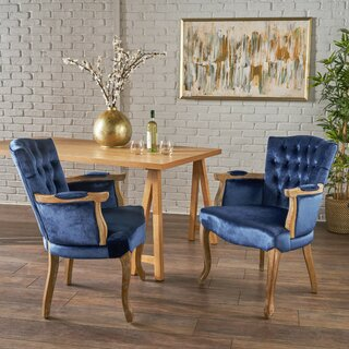 Aguon Upholstered Dining Chair (Set of 2) by One Allium Way SKU:BD440569 Order