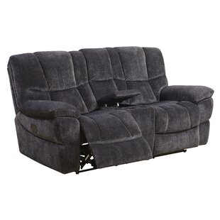 Pascarella Reclining Loveseat by Winston Porter
