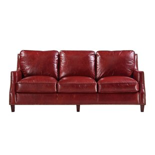 Claudio Leather Sofa