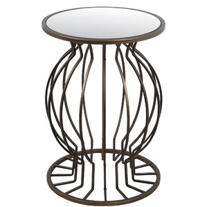 Tomohon End Table by Bloomsbury Market