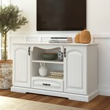 Parsonville Solid Wood TV Stand for TVs up to 55 by Red Barrel Studio®