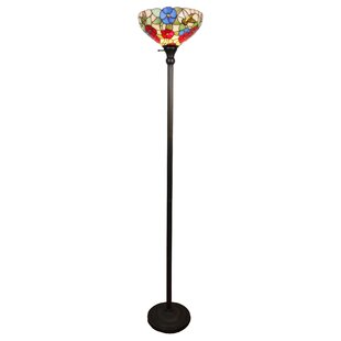 Affordable Price Hummingbirds 14 Torchiere Floor Lamp By Amora Lighting