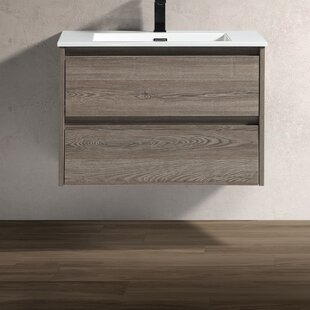 Holtsville 30 WallMounted Single Bathroom Vanity
