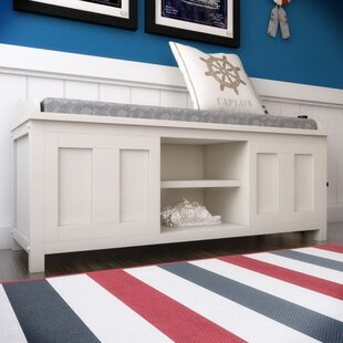 Gainsborough Wood Storage Bench Beachcrest Home