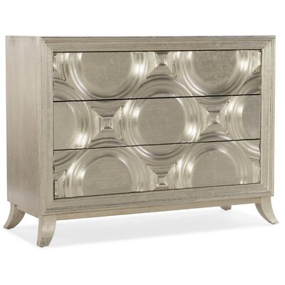 Hooker Furniture Bubbly 3 Drawer Accent Chest