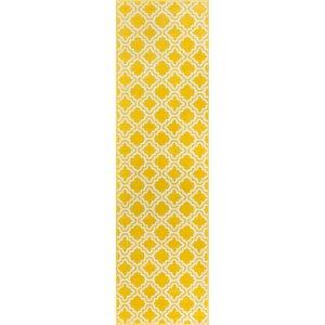 Helwig Calipso Yellow Area Rug