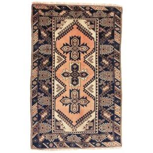Sherrill Handwoven Wool Beige Green Brown Rug