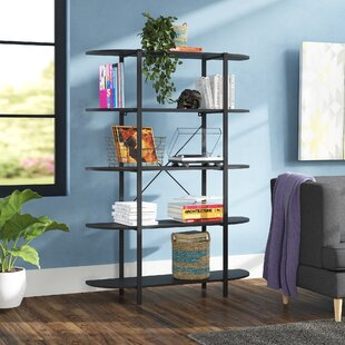 Pippa 5 Tier Etagere Bookcase