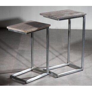 Avon 2 Piece Nesting Tables by Brayden Studio