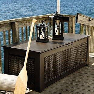 Patio Chic™ 136 Gallon Resin Deck Box & Deck Boxes u0026 Patio Storage Youu0027ll Love | Wayfair