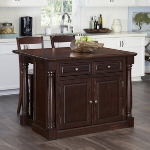 Giulia Kitchen Island Set by Laurel Foundry Modern Farmhouse