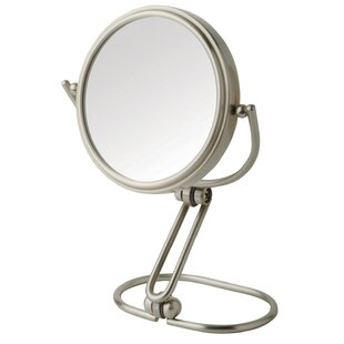 Price comparison Round Metal Travel Mirror By Symple Stuff