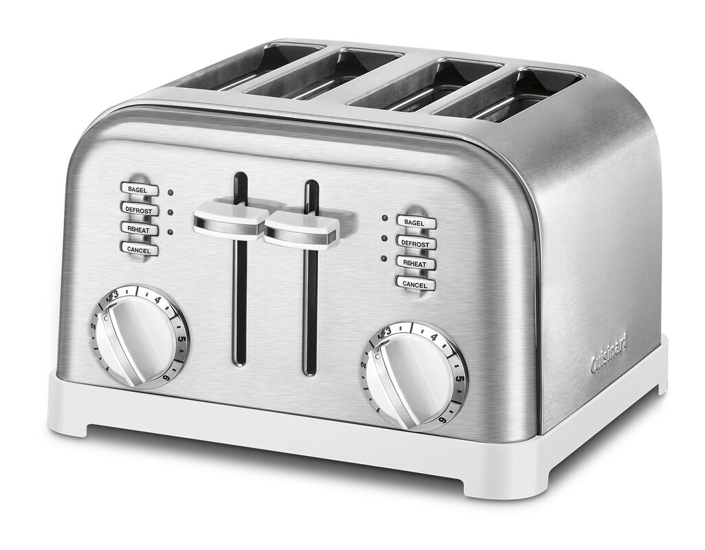 Cuisinart Metal Classic 4 Slice Toaster & Reviews