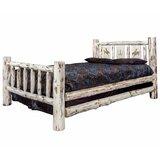 Antigo Laser Engraved Bronc Standard Bed by Millwood Pines