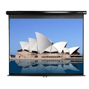 Compare & Buy Manual Series White 150 Diagonal Manual Projection Screen ByElite Screens