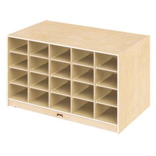 Island Double Sided 20 Compartment Cubby By Jonti-Craft