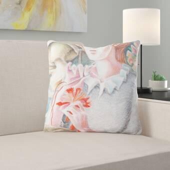 Brayden Studio Sashi Sunbrella Indoor Outdoor Throw Pillow Wayfair