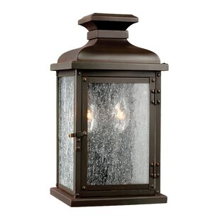 Affordable Hazelwood 2-Light Outdoor Flush Mount By Darby Home Co