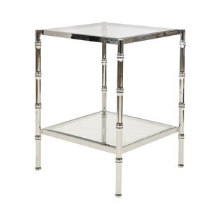 Compare & Buy Bamboo End Table by Worlds Away