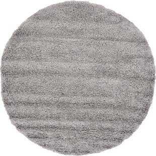 Lilah Shag Gray Area Rug by Andover Mills
