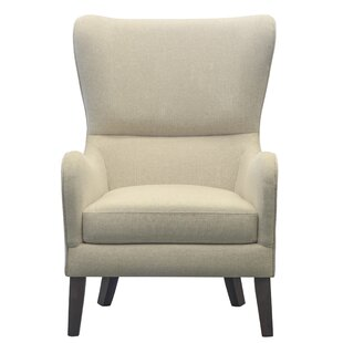 Demi Wingback Chair by Alcott Hill 2019 Coupon