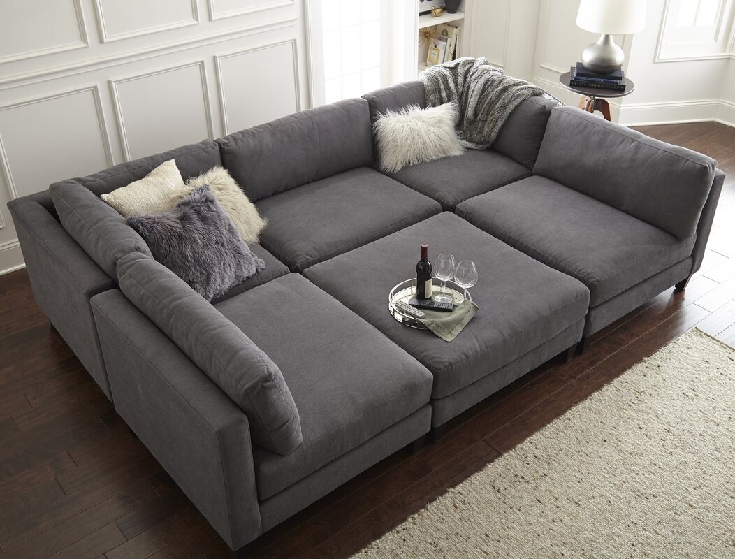axis sectional with and sleeper sleepers crate queen lounger barrel ii