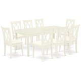Boxvale 9 Piece Extendable Solid Wood Dining Set by Winston Porter