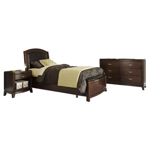 Read Reviews Loveryk Storage Platform Configurable Bedroom Set By Darby Home Co
