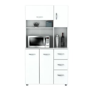 white kitchen pantry cabinet. 66 14  Kitchen Pantry Cabinets You ll Love Wayfair