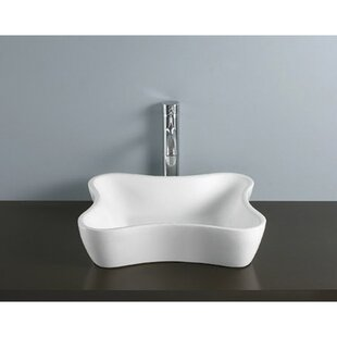 Nuevo Ceramic Specialty Vessel Bathroom Sink By Kingston Brass