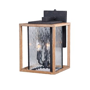 Brandie 3-Light Metal Outdoor Wall Lantern By Trent Austin Design Outdoor Lighting