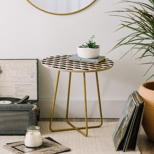 Little Arrow Design Co Mod Scallops End Table