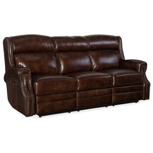 Buy luxury Carlisle Leather Reclining Sofa by Hooker Furniture Reviews (2019) & Buyer's Guide