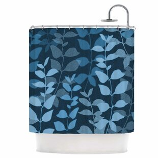 Compare Leaves of Dreams Shower Curtain ByEast Urban Home