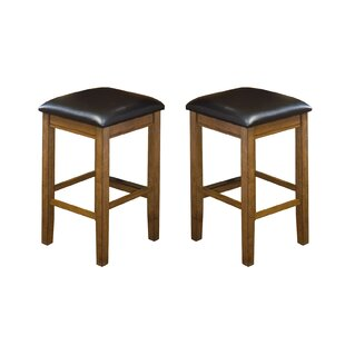 Price comparison Tesch 24 Bar Stool (Set of 2) by Union Rustic Reviews (2019) & Buyer's Guide