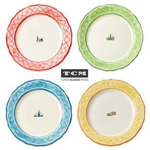 TCM An American in Paris 11 Inch Dinner Plate 4 Piece Set  sc 1 st  Wayfair & 10 Inch Decorative Plates | Wayfair