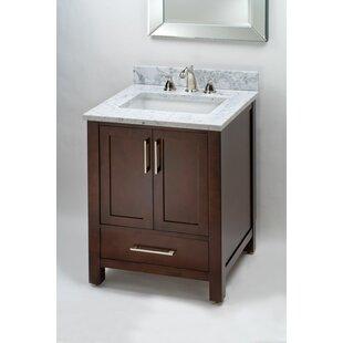 Monaco 24 Single Bathroom Vanity Base by Empire Industries