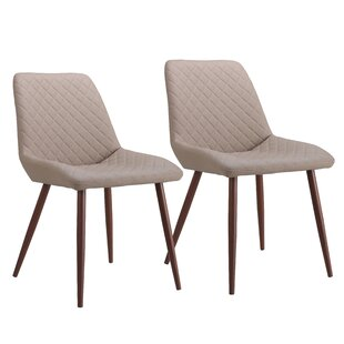 Gosney Upholstered Dining Chair (Set of 2) Wrought Studio