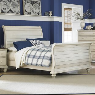 Alise Sleigh Bed by Lark Manor