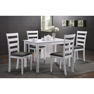 Arturo Ladder Back 5 Piece Dining Set Alcott Hill